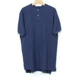 The Dawn B MADE IN USA POLO OVER DYED INDIGO No.5