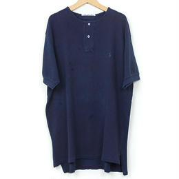 The Dawn B MADE IN USA POLO OVER DYED INDIGO No.6