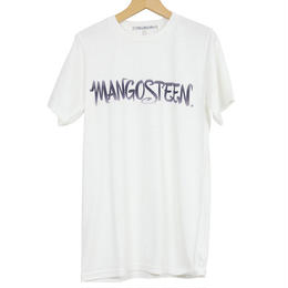 The Dawn B  ザドーンビィ MANGOSTEEN  Tシャツ WHITE