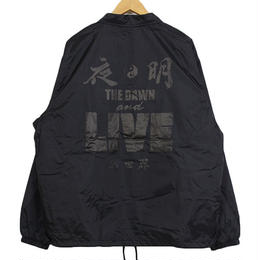 Auguste Presentation  × The Dawn B 夜明 コーチジャケット BLACK/BLACK