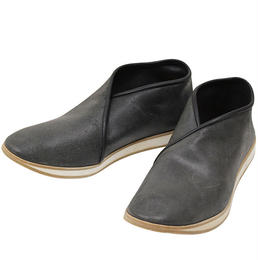 7CCR (セブンシーシーアール) 7170 Cross Top Hand Made Shoes BLACK CALF