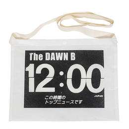THE DAWN B  × bulbs 超軽量 サコッシュ WHITE/WHITE