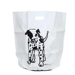 HIGHTIDE × MARK GONZALES  TARP BAG WHITE 35ℓ