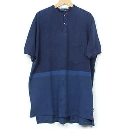 The Dawn B MADE IN USA POLO OVER DYED INDIGO No.7