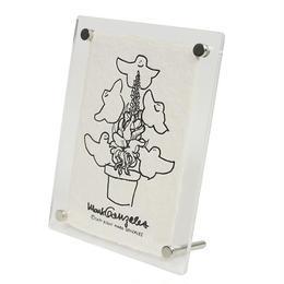 MARK GONZALES  マークゴンザレス 鹿児島 手漉き和紙 フォトフレーム NO.3