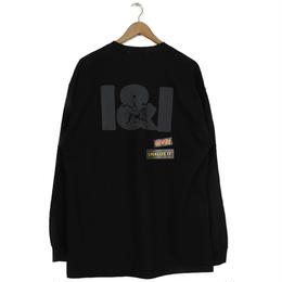 THE DAWN B LOCALIZE IT I&I LION OF JAH 長袖Tシャツ ブラック