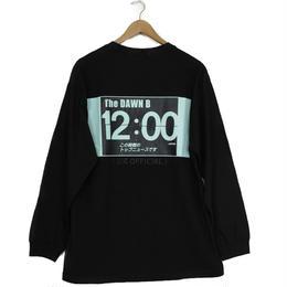 THE DAWN B LOCALIZE IT トップニュース 長袖Tシャツ ブラック