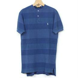 The Dawn B MADE IN USA POLO OVER DYED INDIGO No.2