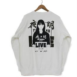 KYNE & THE DAWN B  夜明けガール スウェットシャツ ホワイト