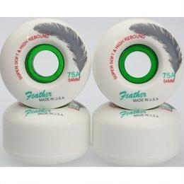 Feather Wheel CRUISE 75A 54mm White/Green