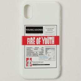 【GLORY】FIRE OF YOUTH iPhoneケース