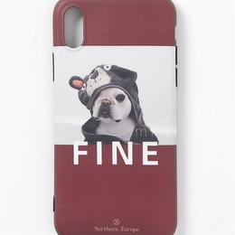 【GLORY】FINE Dog iPhoneケース
