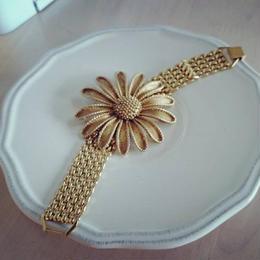vintage flower bracelet ガーベラ