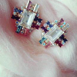 再販!8 color swarovski pierce (new version)