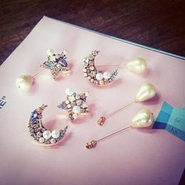 star × moon pierce