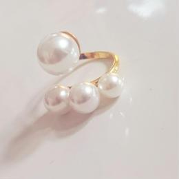 pearl snake ring