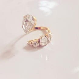 5 bijou snake ring