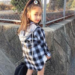 三輪様専用♥小花柄スカート130 ブロックチェックシャツ130.150 ブルゾン130
