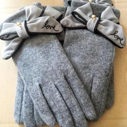 リボンの極暖手袋❤︎