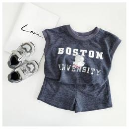 【予約終了】BOSTON セット アップ(80-130cm)