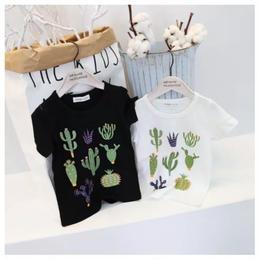 【予約終了】サボテン Tシャツ(80-110cm)