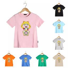 【再/予約終了】13color セーラー Tシャツ(100-130cm)
