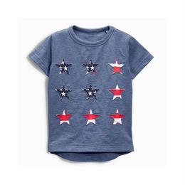 【予約終了】アメリカン スター Tシャツ(90-130cm)