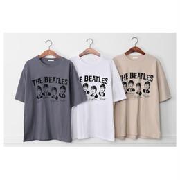 【予約終了】レディース BEATLES Tシャツ(フリー)
