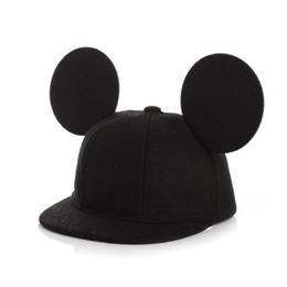 【再/予約終了】大きなお耳♡mouse hat(Mom)