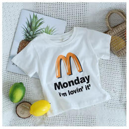 【在庫あり】i'm lovin' it' Tシャツ(80-120cm)