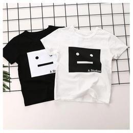 【予約終了】モノトーン Tシャツ(80-130cm)