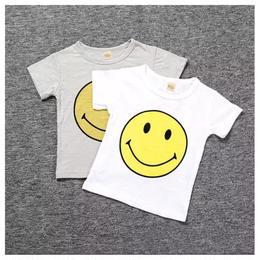 【予約終了】スマイル Tシャツ(80-130cm)