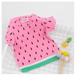 【予約終了】スイカ Tシャツ(80-120cm)