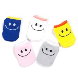 【予約終了】smile ベビー ソックス 5Pセット(S-M)