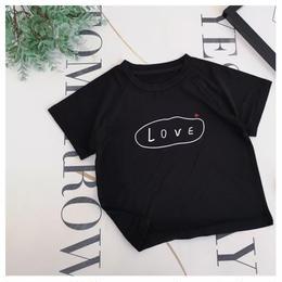 【予約終了】LOVロゴ Tシャツ(80-140cm)