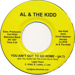 "[SG-045] (AK1207) Light Years - You Ain't Got To Go Home Part 1&2 (7"" Vinyl)"