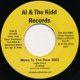 """[SG-053] (AK1206) Light Years - POWERLINE / Move To The Rear 3002 (7"""" Vinyl)"""