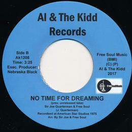 """[AK1208] Sir Joe Quarterman and Free Soul - Find Yourself / No Time For Dreaming (7"""")"""