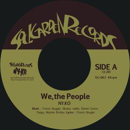 """[SG-062] NY.KO - We, the People / Free Yourself (7"""")"""