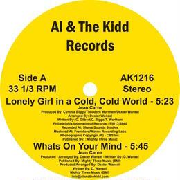 "[AK 1216] Jean Carn - The Jean Carn Instrumentals 1979 (12"" Vinyl)"