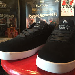 EMERICA  REYNOLDS LOW  <COLOR: Black / Silver>