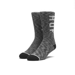 MELANGE OG LOGO SOCKS BLACK