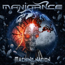 "MANIGANCE ""Machine Nation"" (Japan Edition + obi)"