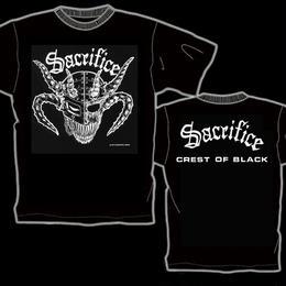 "SACRIFICE ""Crest Of Black"" T-shirt (White)"