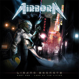 "AIRBORN ""Lizard Secrets〜Part One - Land Of The Living〜"" (Japan Edition +obi)"