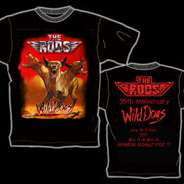 THE RODS Japan Limited  T-shirt