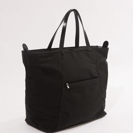 ソフトテンセルクロストート【ブラック】  L-BAG-07