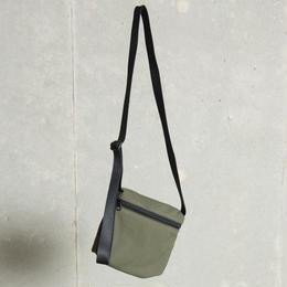 ソフトテンセルクロスミニサコッシュ【カーキ】  L-BAG-06