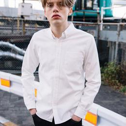 オックスフォードリラックスシャツ【ホワイト】 L-64