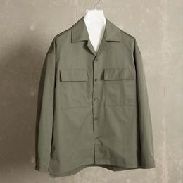TCミリタリーシャツアウター【カーキ】 L-32
